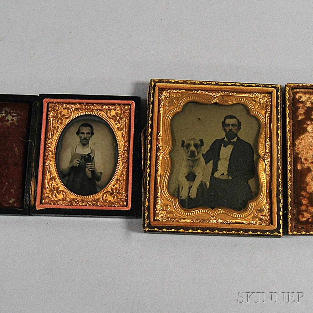 Two Cased Ambrotypes