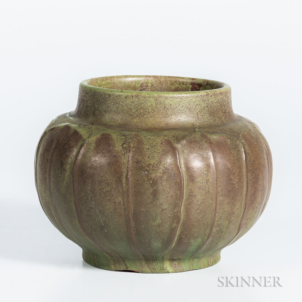 William J. Walley Studio Pottery Vase
