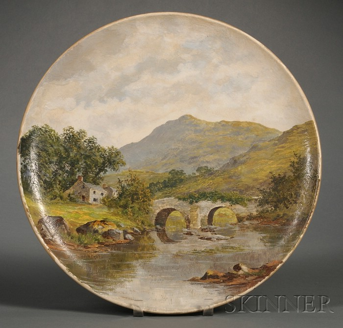 Wedgwood Hand-painted Earthenware Charger