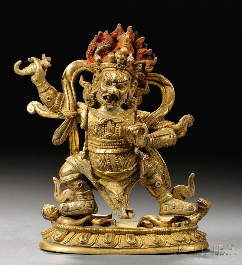 Gilt-bronze Buddhist Divinity