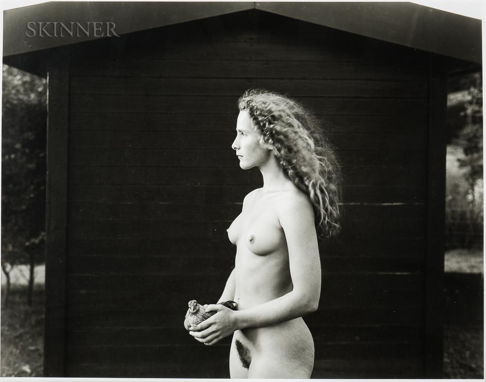 Jock Sturges (American, b. 1947)      Daniella, Oud Heusden, the Netherlands, 1993