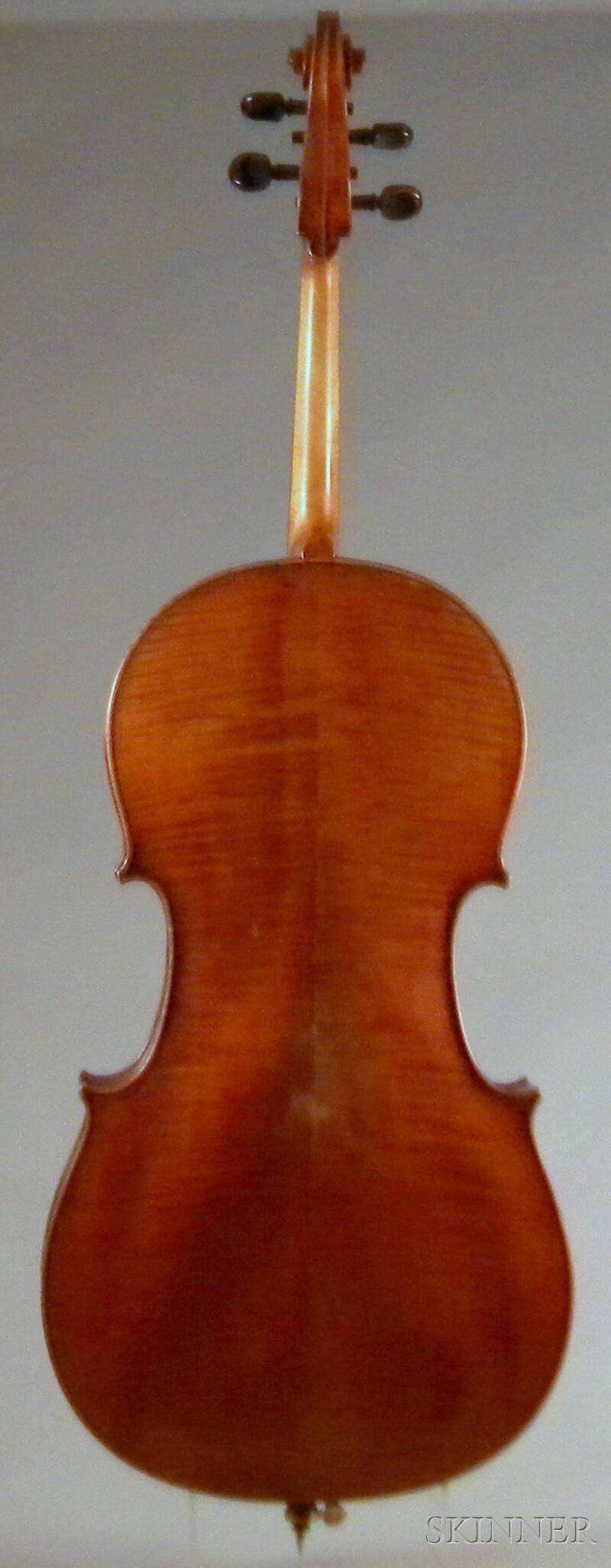 German Violoncello, c. 1910