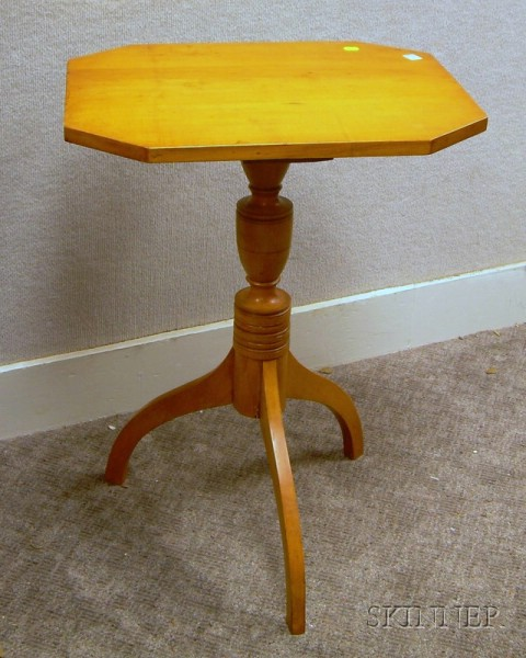 Federal Maple Candlestand.
