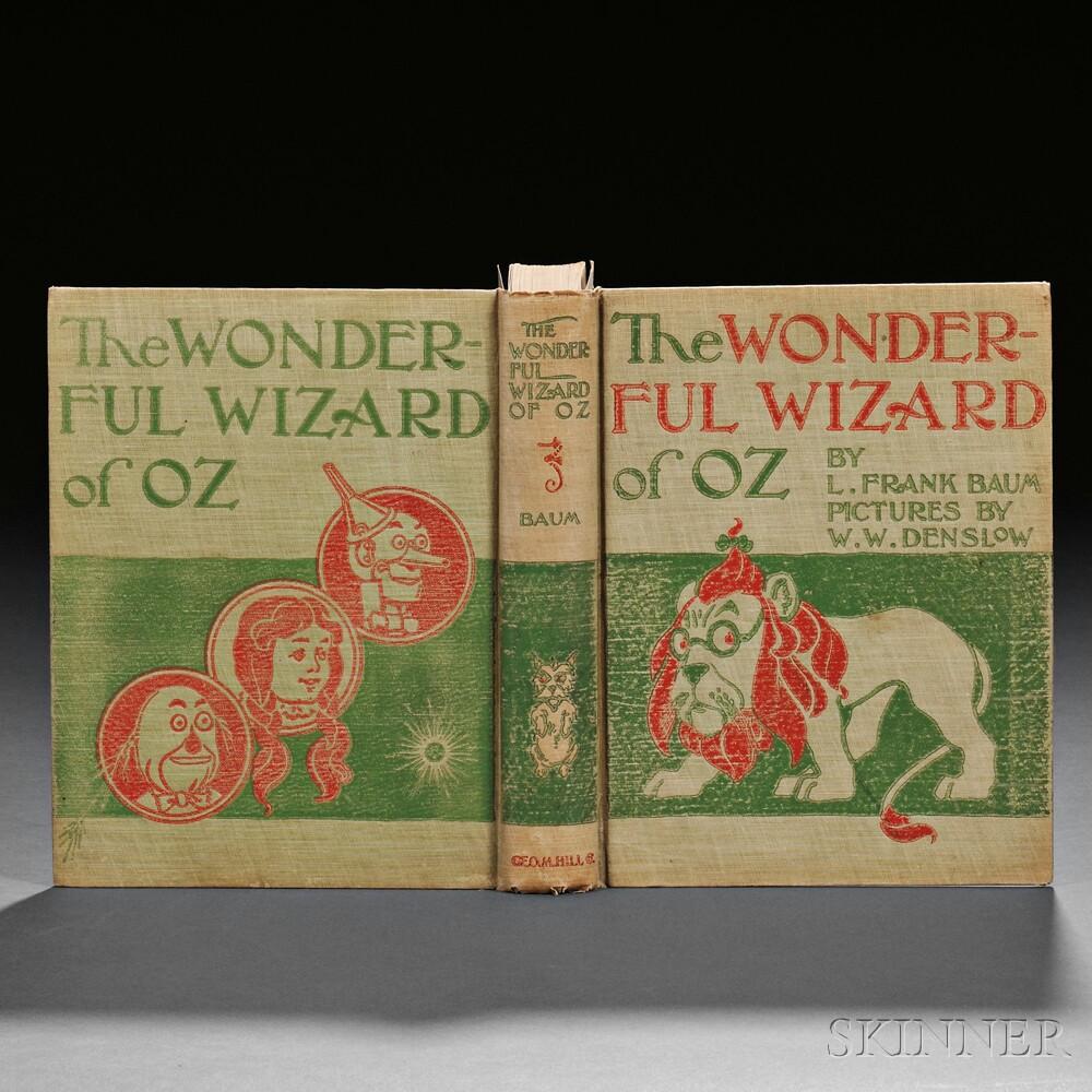[Wizard of Oz] L. Frank Baum (1856-1919) The Wonderful Wizard of Oz.
