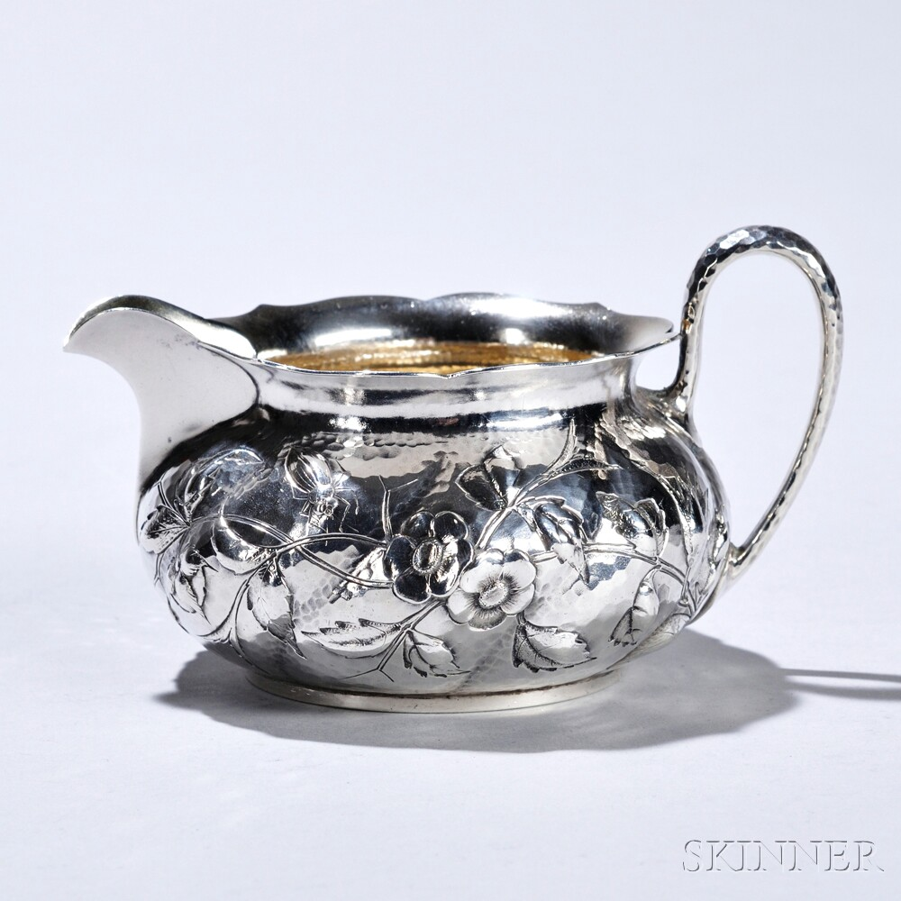 Dominick & Haff Aesthetic Movement Sterling Silver Creamer