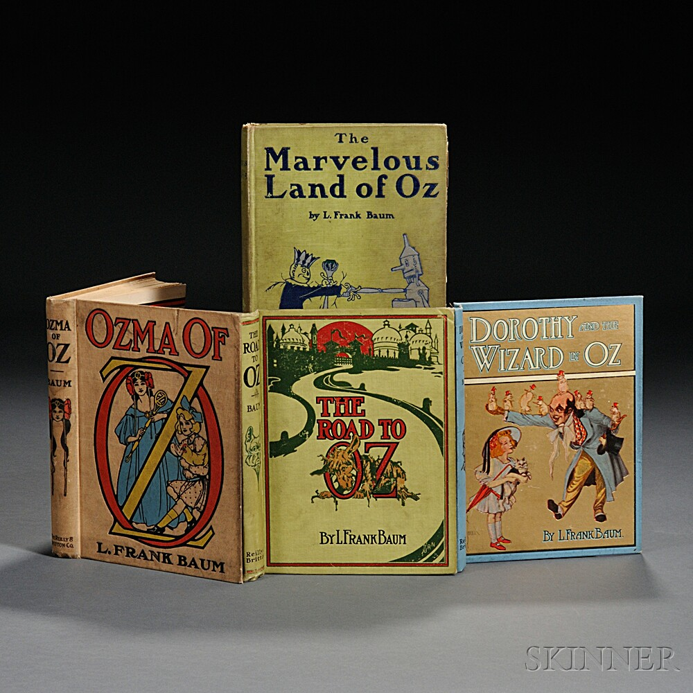 [Wizard of Oz] L. Frank Baum (1856-1919) Four Titles.