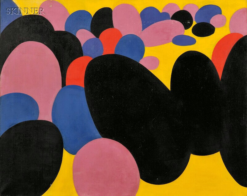 Theo (Theodore) Hios (Greek/American, 1910-1998)      Untitled [Chromatic Landscape]
