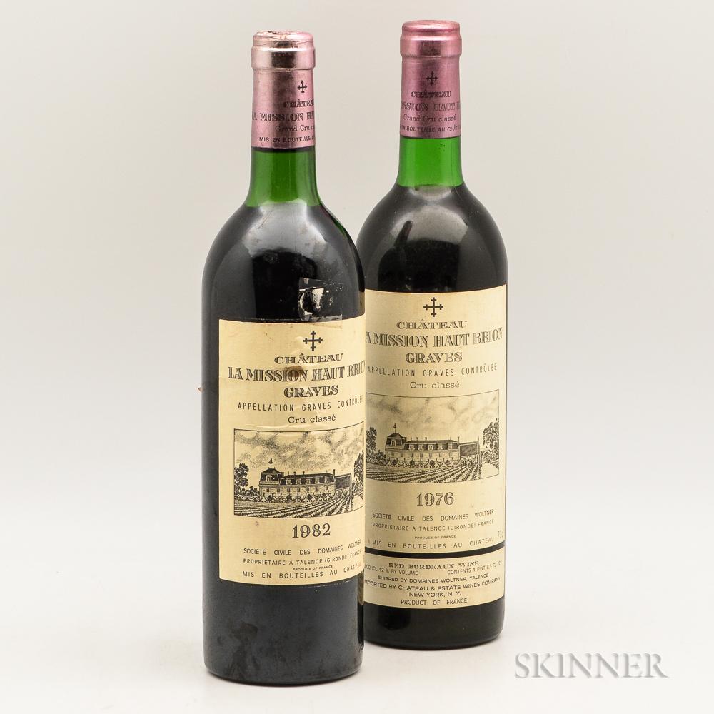 Chateau La Mission Haut Brion, 2 bottles