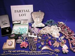 Assortment of Costume Jewelry.