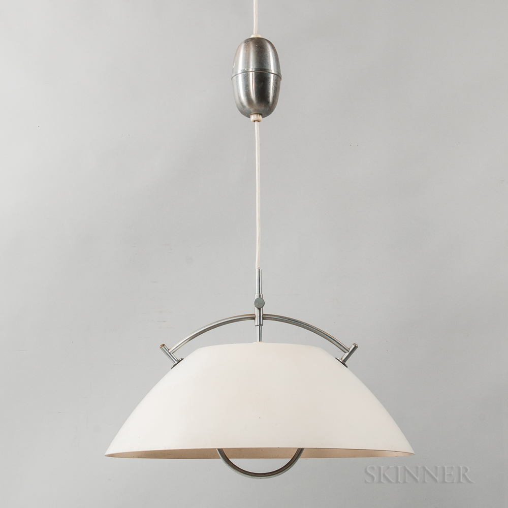 Danish Modern Hanging Light Fixture