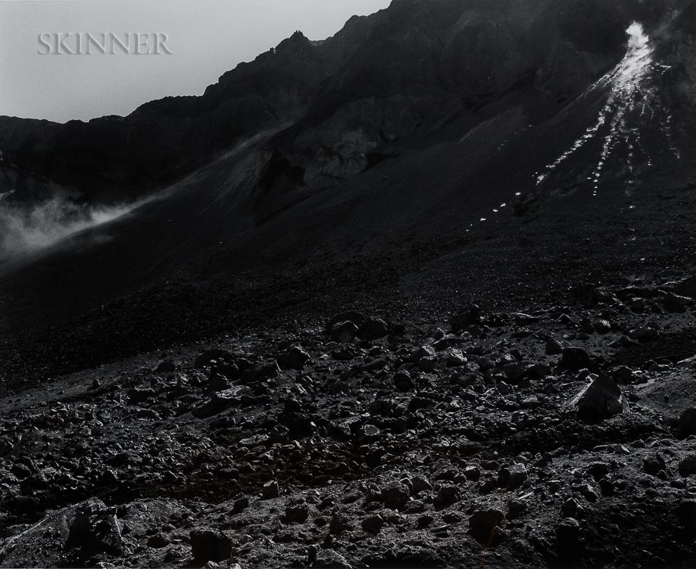 Frank Gohlke (American, b. 1942)      Rockfall - Mt. Saint Helens Crater