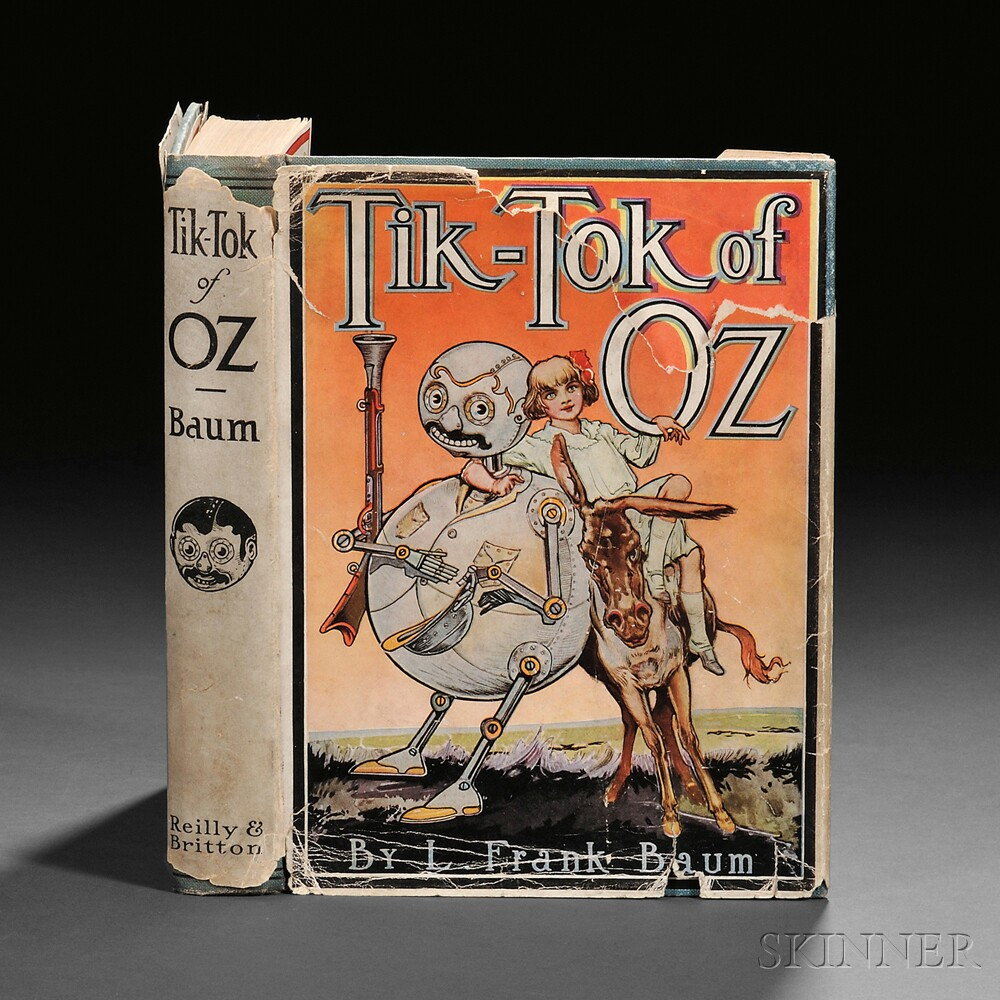 [Wizard of Oz] L. Frank Baum (1856-1919) Tik-tok of Oz.