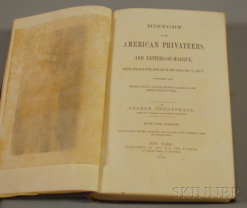 Coggeshall, George (1784-1861) History of the American Privateers
