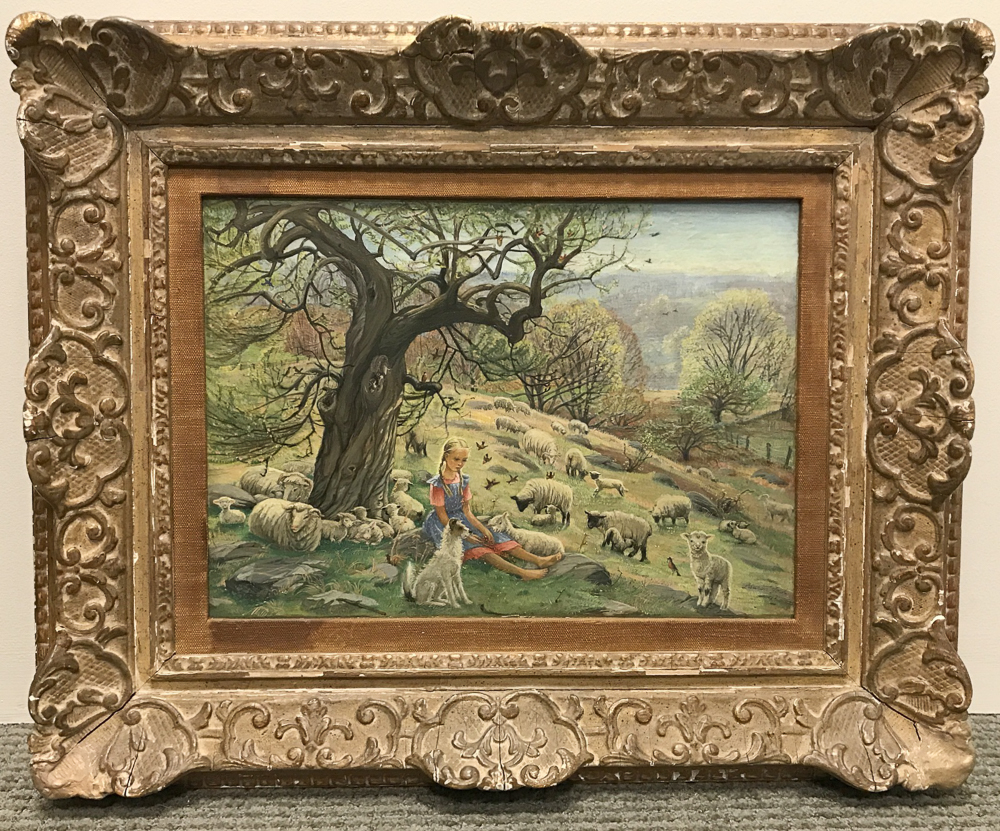 Lauren Ford (American, 1891-1973)      Good Little Shepherdess