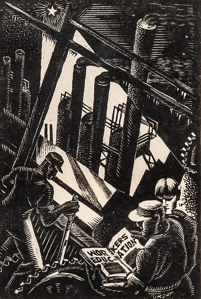 Charles Turzak (American, 1899-1985)      The Workers