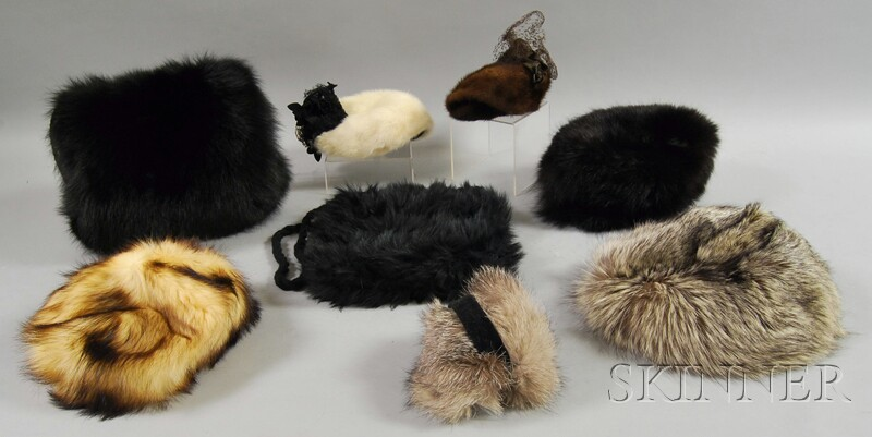 Eight Ladies' Fur Accessories