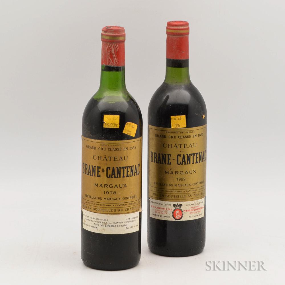 Chateau Brane Cantenac, 2 bottles