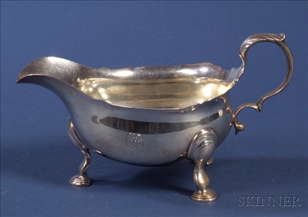 Tiffany & Co. Sterling Georgian-style Sauceboat