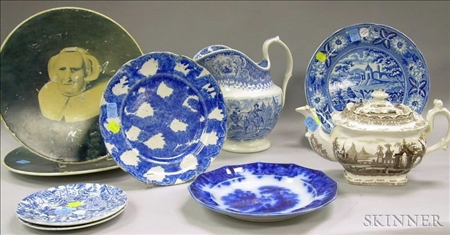 Group of Staffordshire and Decorated Ceramics