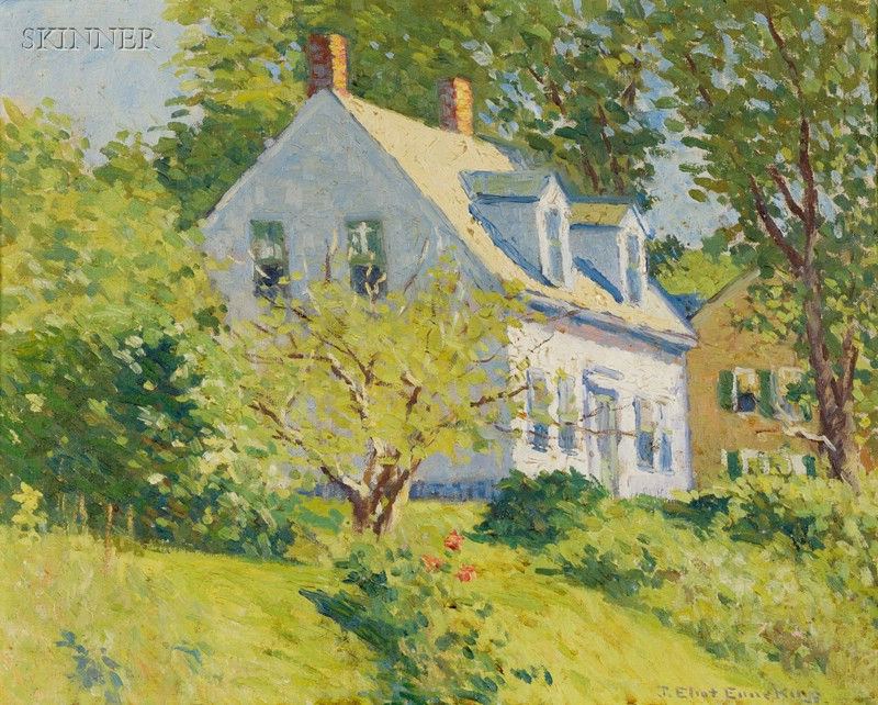 Joseph Eliot Enneking (American, 1881-1942)      Sunlight and Shadow