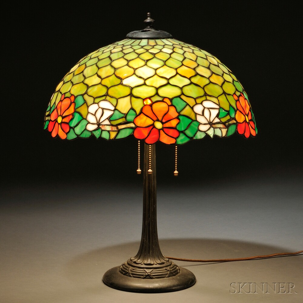 Table Lamp with Base Attributed to Duffner & Kimberly