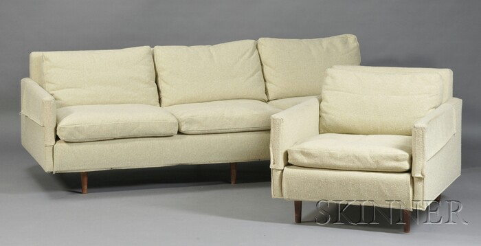 "Ben Thompson ""Griggs"" Custom Sofa and Chair"