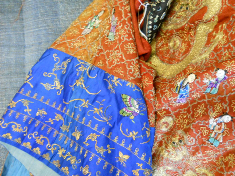 Five Embroidered Robes and a Pair of Shoes