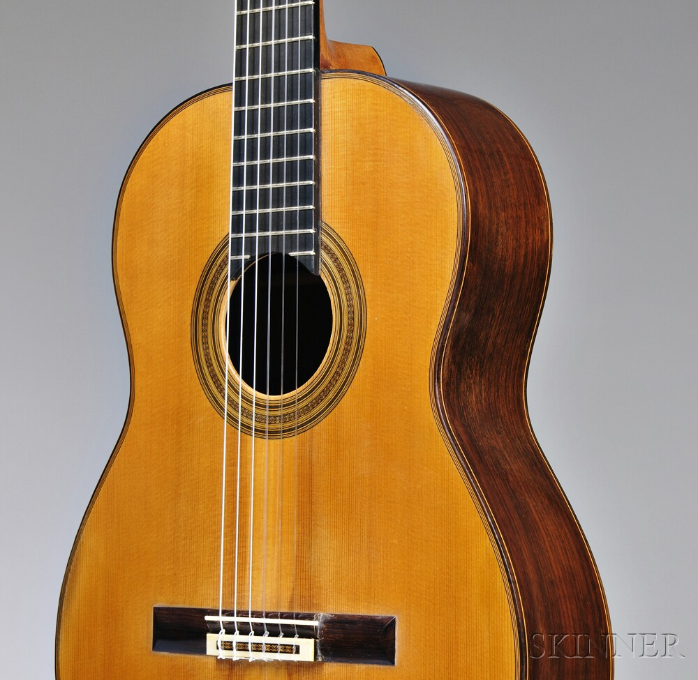 French Classical Guitar, Robert Bouchet, Paris, 1970