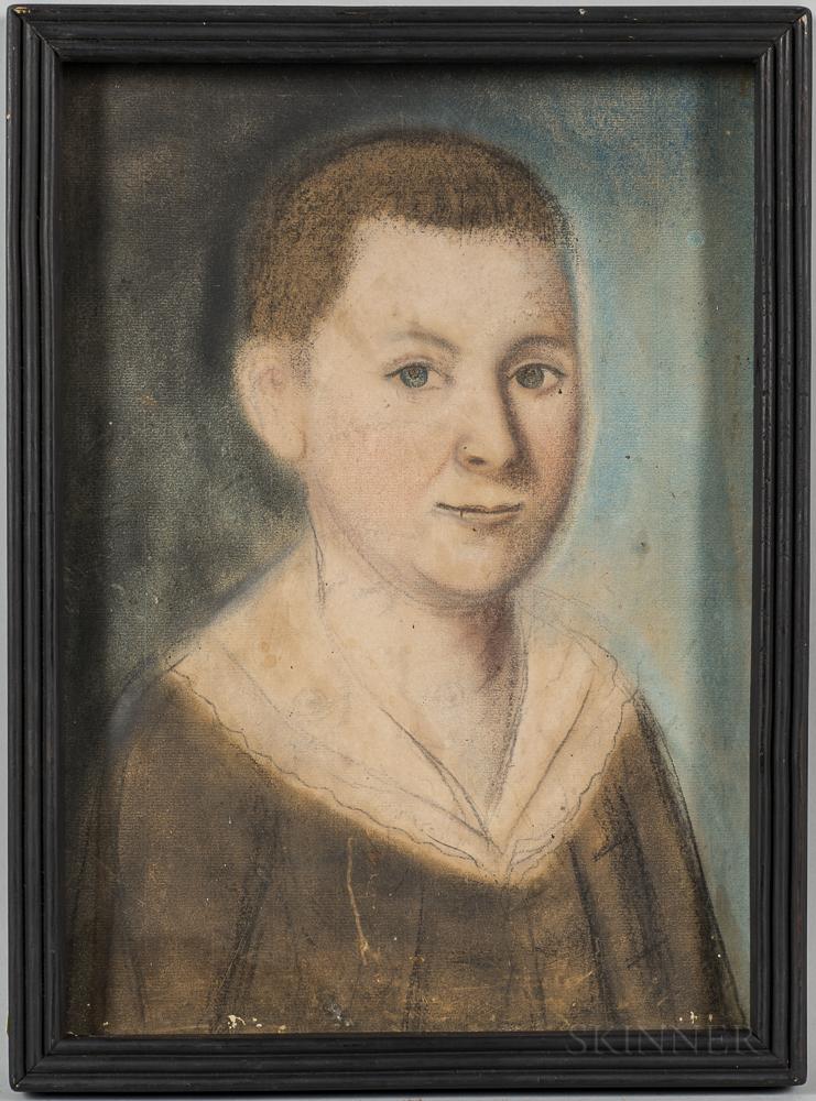 Benjamin Blyth (Massachusetts, 1746-1786)      Portrait of a Boy