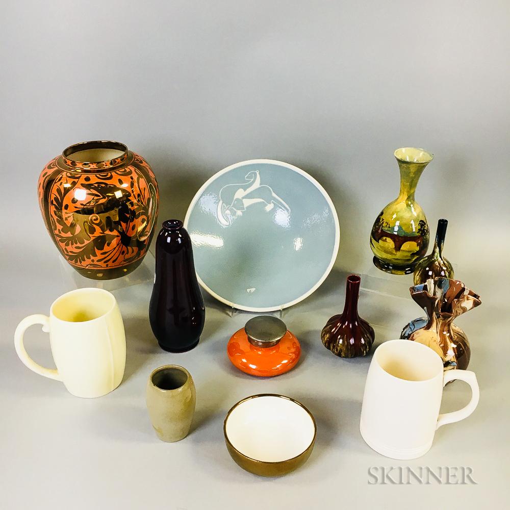 Twelve Mostly English Ceramic Items