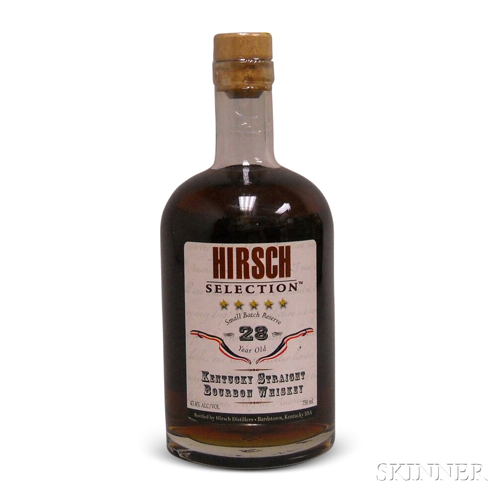 Hirsch Selection Bourbon 28 Years Old, 1 750ml bottle