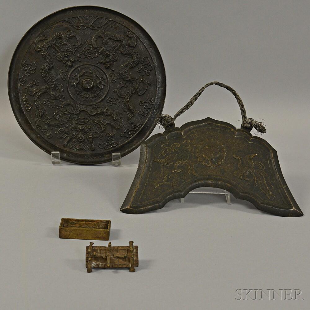 Three Metal Items