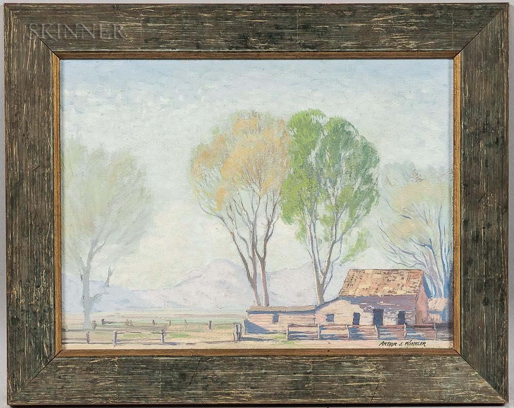 Arthur John Winkler (American, 1883-1933)      Hazy Morning