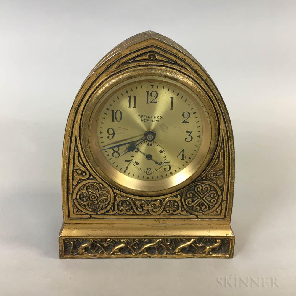 Tiffany & Co. Gilt Timepiece