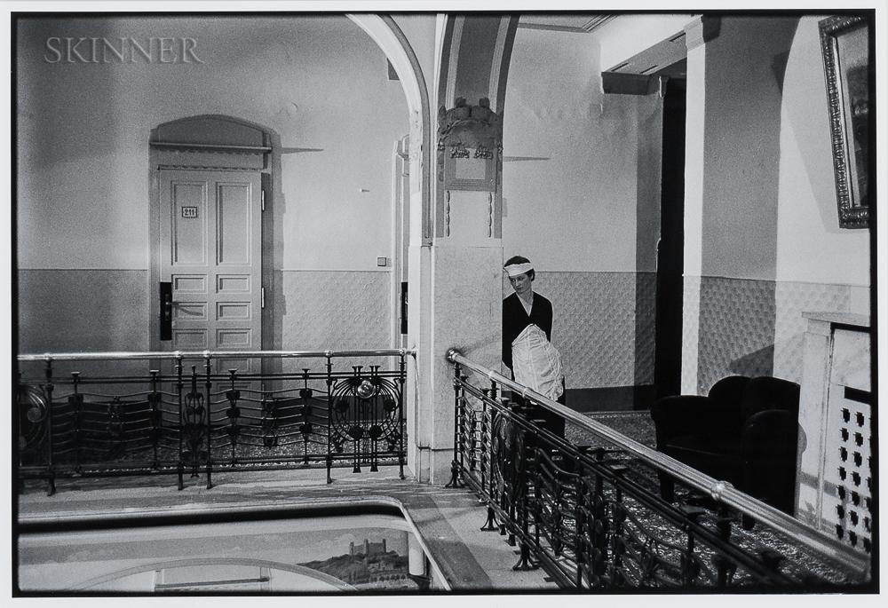 Paul Ickovic (Czech/American, b. 1944)      Single Chambermaid, Prague