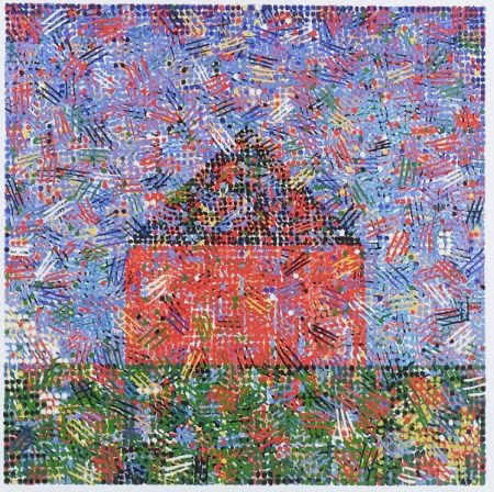 Jennifer Bartlett (American, b. 1941)  House - Dots and Dashes