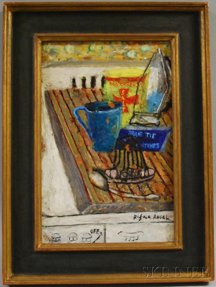 Rifka Angel (American, 1899-1986)      Still Life.