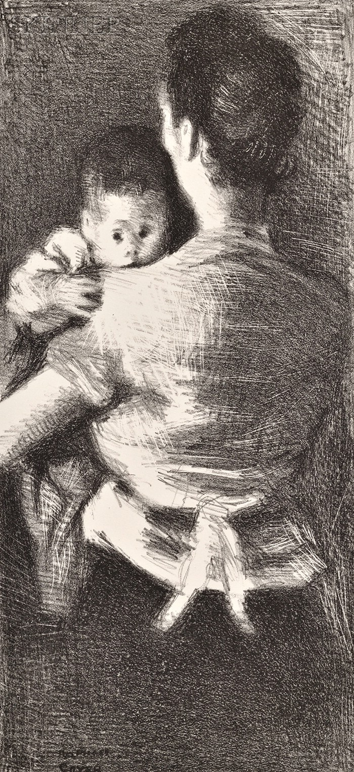 Raphael Soyer (American, 1899-1987)      Protected