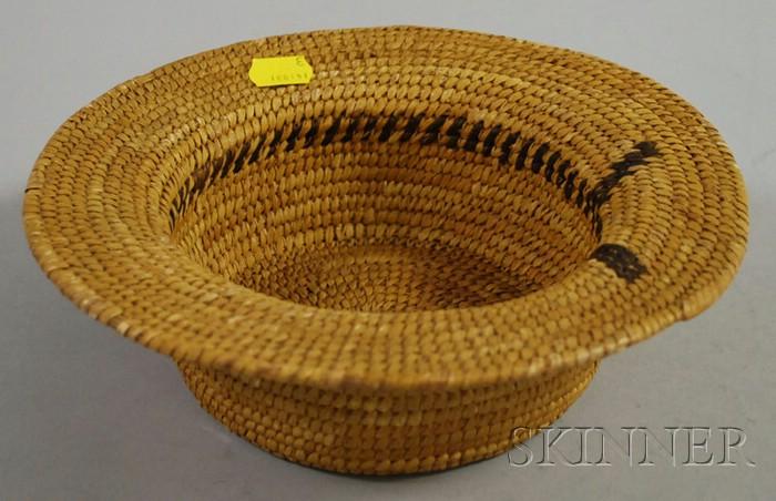 Papago Basketry Hat