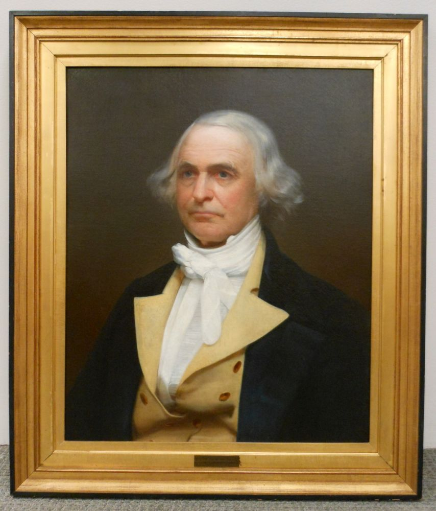 Attributed to Asher Brown Durand (American, 1796-1886)      Portrait of a Gentleman