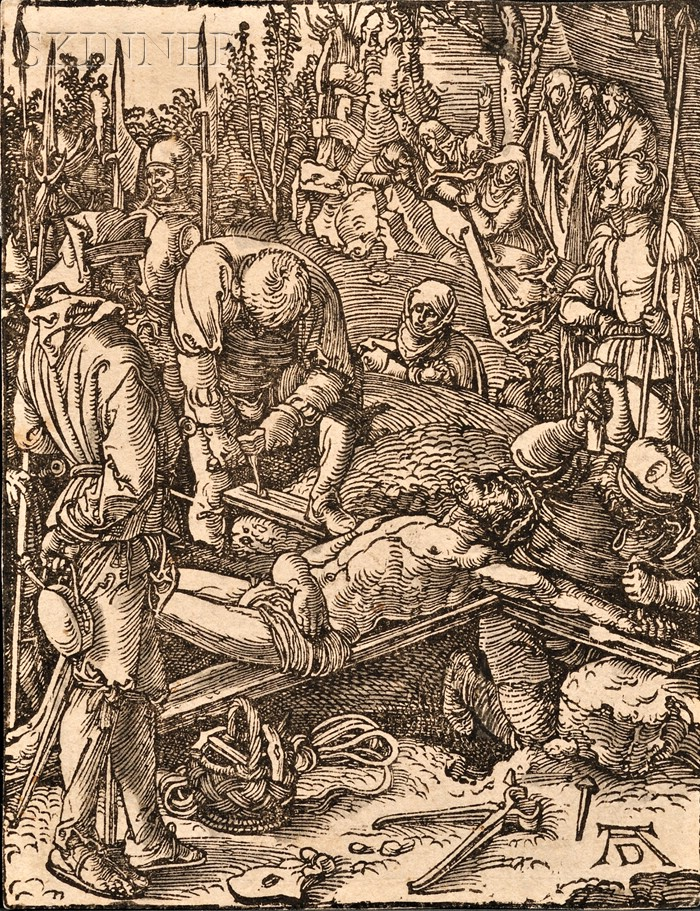 Albrecht Dürer (German, 1471-1528)      Christ Nailed to the Cross
