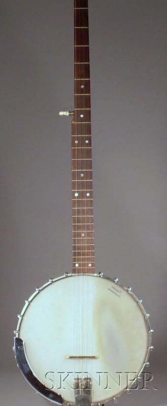 American Five-String Banjo, The Vega Company, Boston, c. 1960, Model 35-5 Folklore