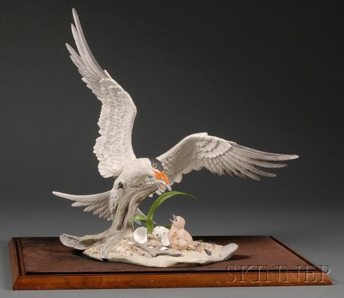 Boehm Porcelain Figure of a Royal Tern