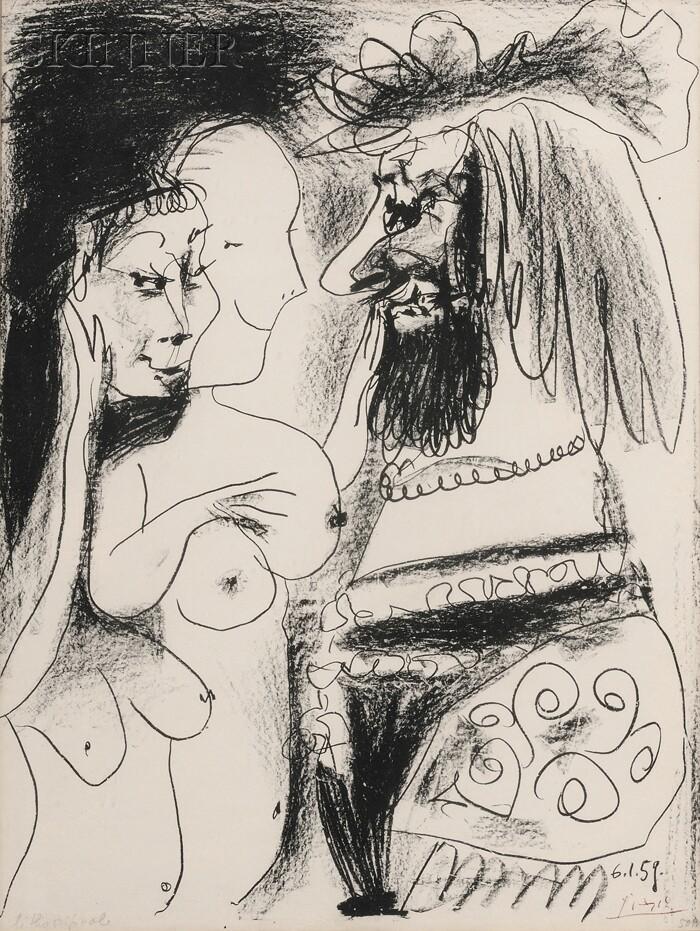 Pablo Picasso (Spanish, 1881-1973)      Le Vieux Roi