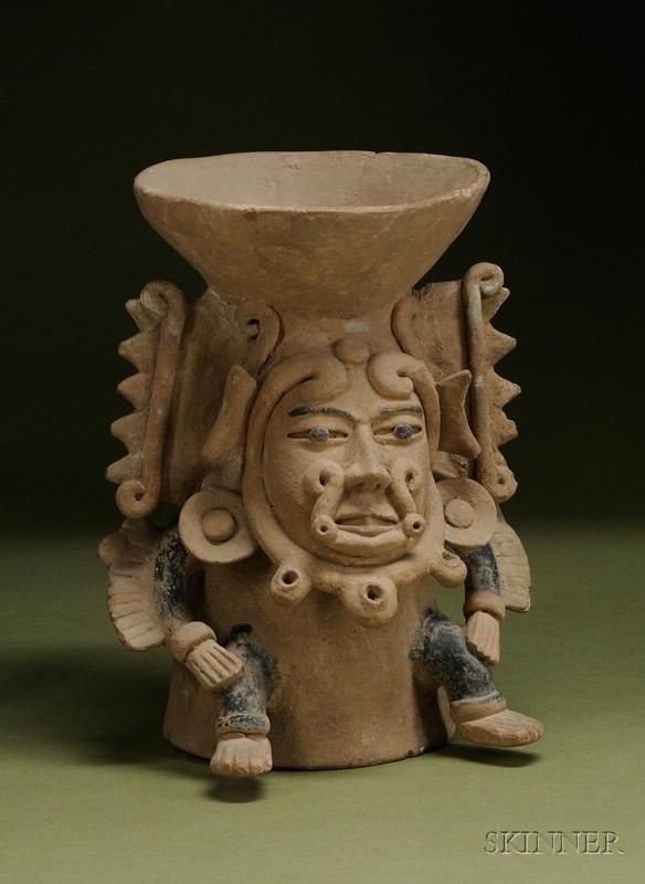 Pre-Columbian Pottery Censer