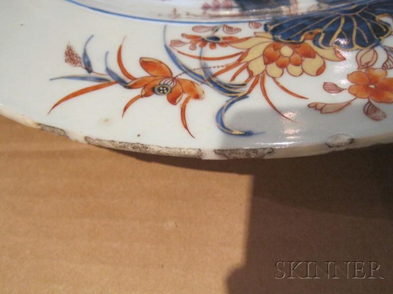 Imari Palette Porcelain Charger