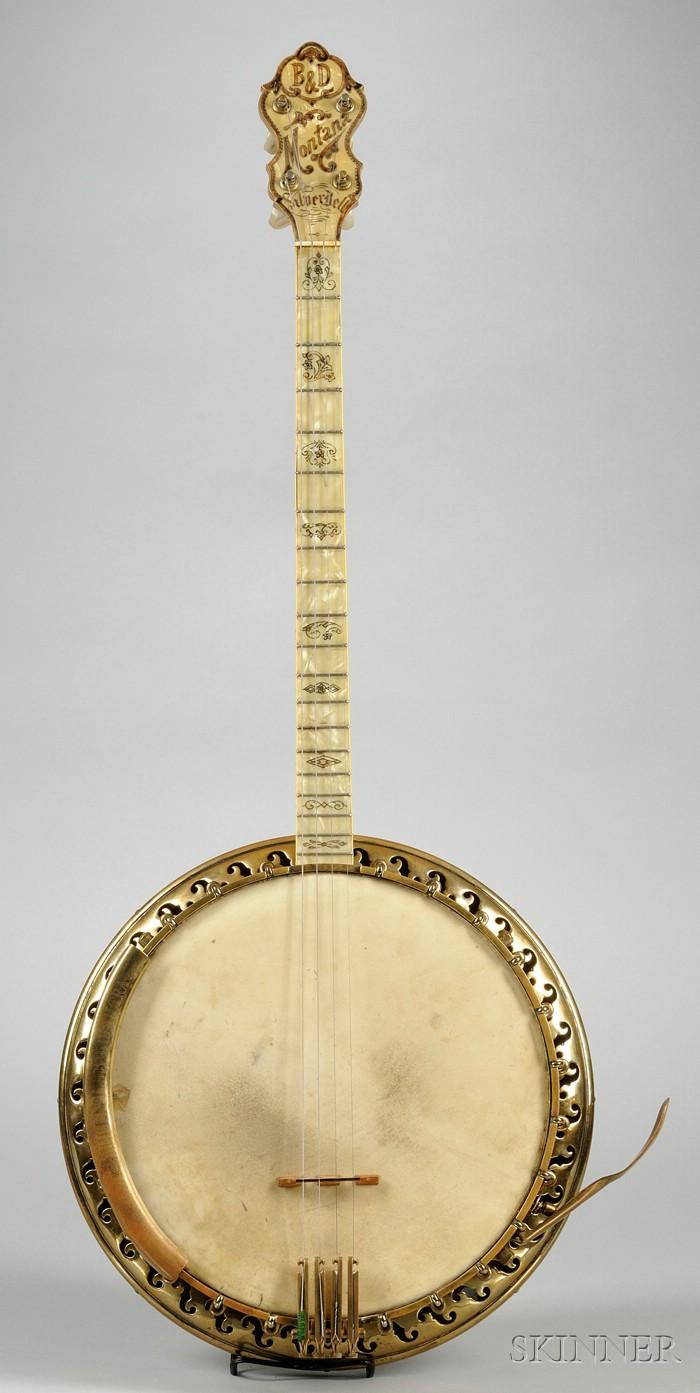 American Tenor Banjo, Bacon Banjo Company, Groton, c. 1929, Model B&D