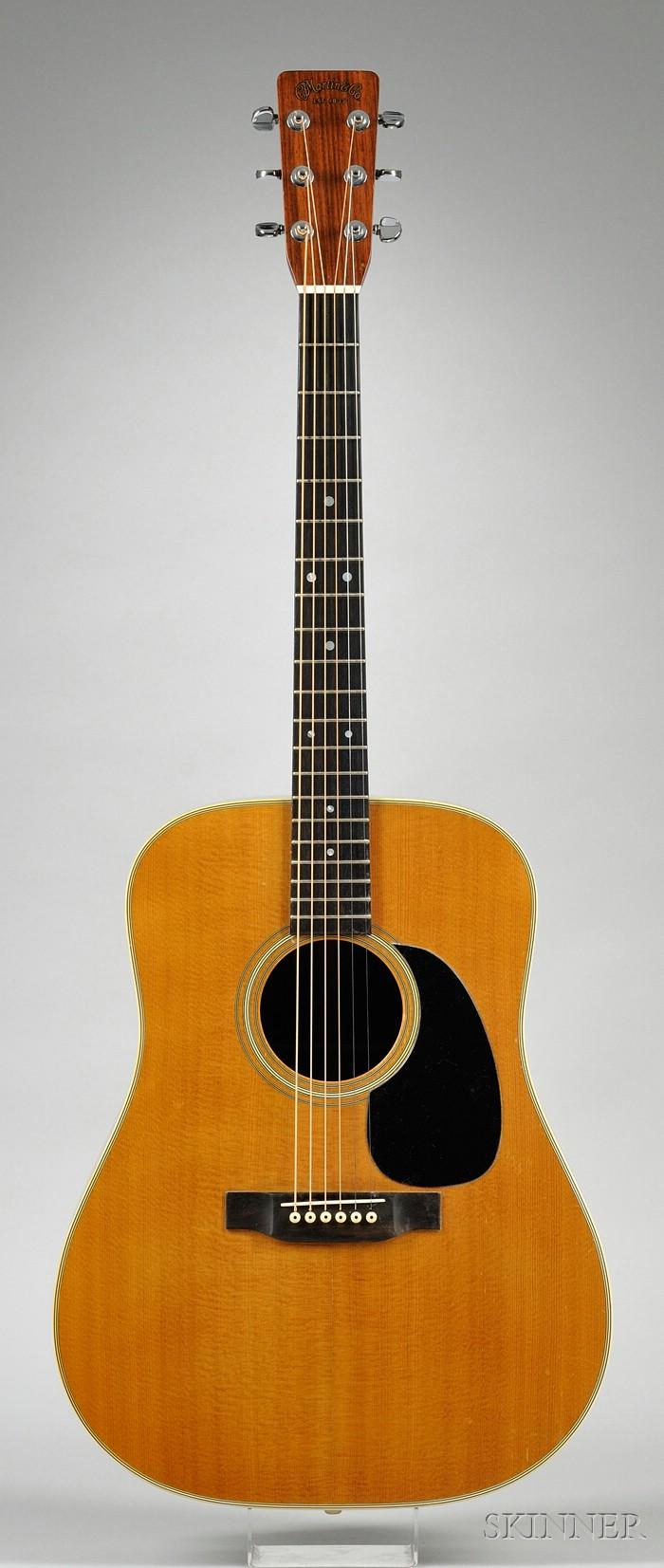 American Guitar, C.F. Martin & Company, Nazareth, 1971, Style D-28