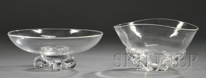 Two Steuben Bowls