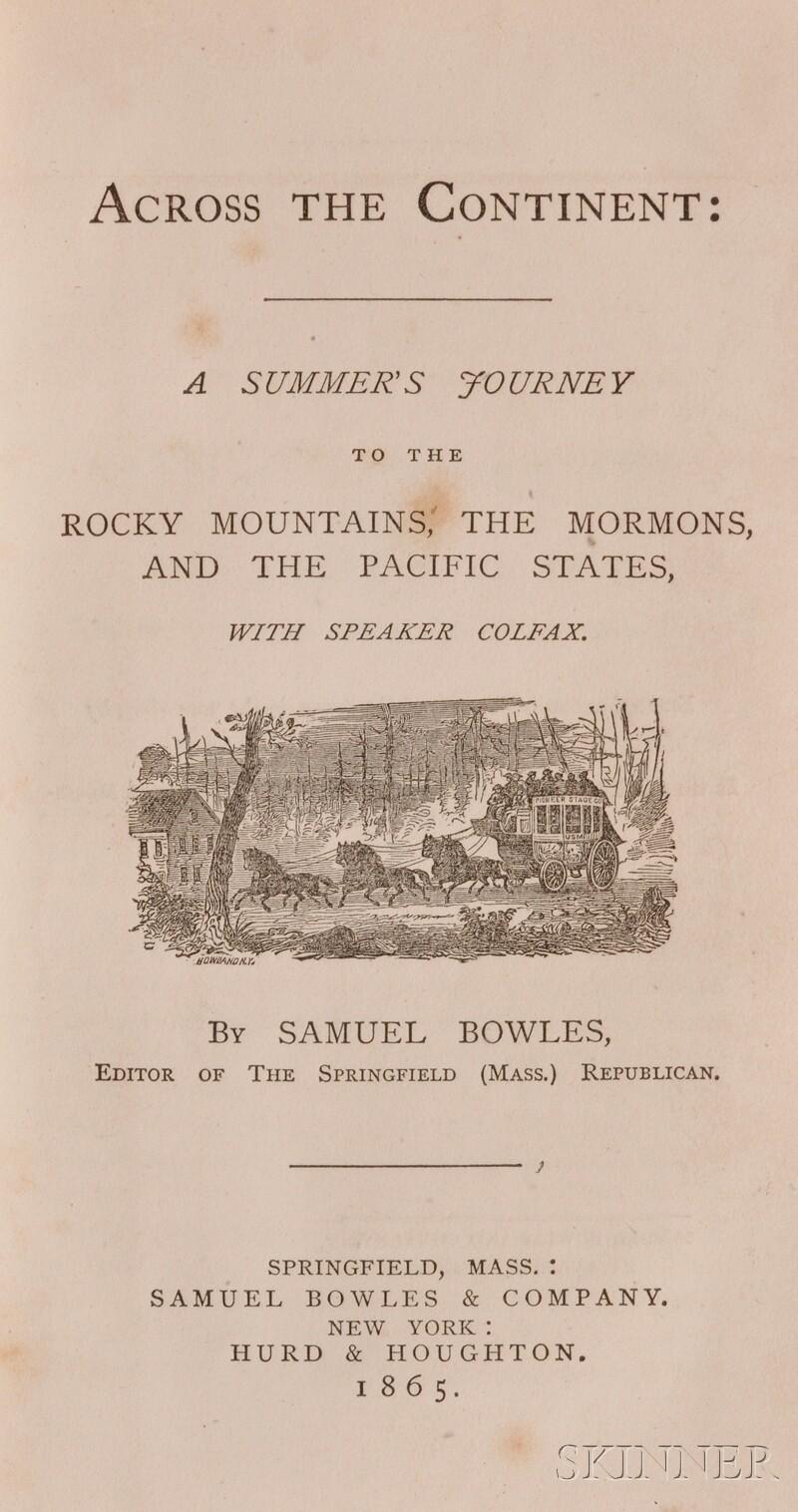 Bowles, Samuel (1826-1878)